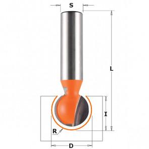 CMT Kuglefræser HM 15,88 R7,94 K8 - 968.158.11