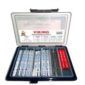 Viking Stiksavklinger i sæt 100 stk assorterede 99