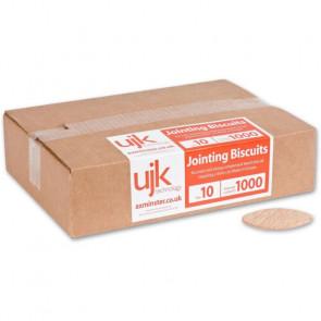 UJK Solid Bøgkiks Nr. 10, 1000 Stk.  - AX102261