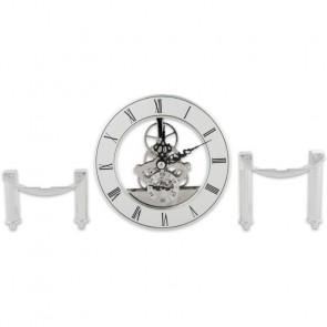 CraftProKits Komplet Ur 126mm Sølv m. Stel - AX103711