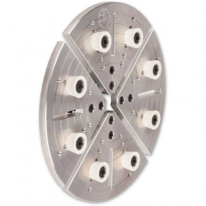 Axminster Woodturning Button Jaws - 250mm - AX340956