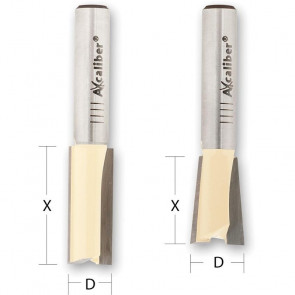 Axcaliber Svalehale fræserjern  8mm skaft - AX506720