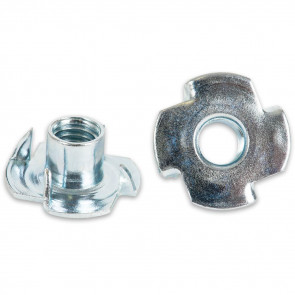 PACK 10 THREADED T NUTS M8 - AX800403