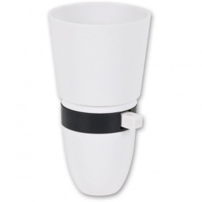 STANDARD SWITCHED LAMP HOLDER WHITE - AX910386