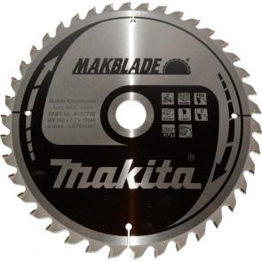 Makita HM klinge 260x2,3x30 Z40