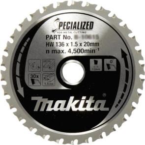Makita Klinge 136x20x30Z Specialized Metal - B-33526
