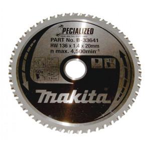 Makita HM klinge 136x20 50Z Specialized - B-33641