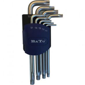 BATO Stiftnøglesæt TX 10-50. Blank - BA-3105