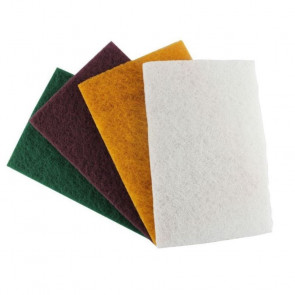 Chestnut NyWeb White (non-abrasive) Pack on 10 - CH31295