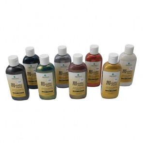 Chestnut Akrylmaling Metalliske Farver 100 ml - Sort - CH31902
