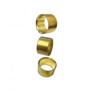 Drechselmeister Messing Ring til håndtag 3 stk. 25,4 mm (1'') - DR-DCBF1-3