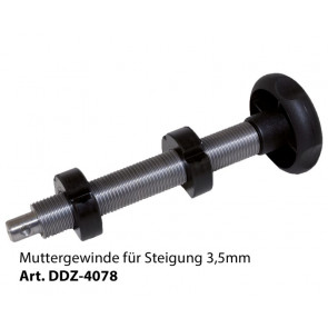 Drechselmeister Møtrikgevind til Skråning 3,5mm - DR-DDZ-4078