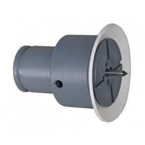 Hager Vakuum Spændepatron m. Gummilæbe 100 mm - DR-DH902095