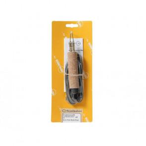 Brennpeter Glødeskriver Pen til Master + Royal inkl. 2 roulet møtrikker - DR-DZB-5006.01.05