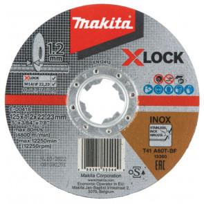 Makita Skæreskive X-LOCK 125x1,2x22,23mm  - E-00418