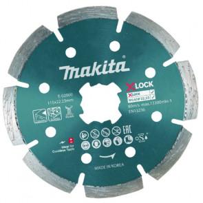 Makita Diamantklinge X-LOCK 125 x1,2 x 22,23 mm - E-02076