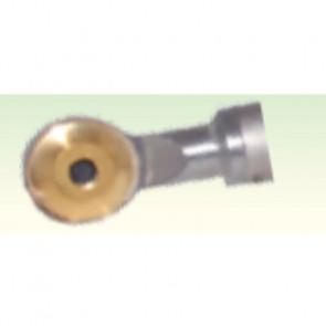 Gamma Zinken 17 mm Skrabejern u. skaft m. Platte, Rund D16 - GZ4144