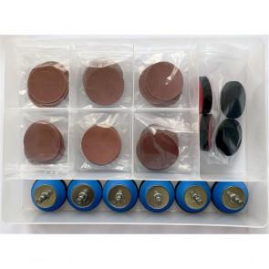 Hope Box 1 with 6 x pro sander arbor 47mm - HOBOX1PSH