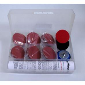 Hope Box 1 with 6 x pro sander arbor 72mm - HOBOX2PSH