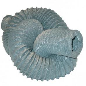 Flexslange grå PVC 120mm 6M - JA30-120