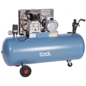 JET ToolAir 400V Kompressor, 200 liter tank, 540 lt / min - JET-C-200-540B