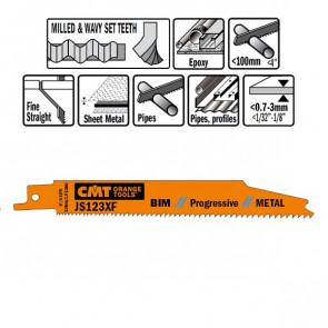 CMT Bajonetklinge 150mm BIM Prog (Metal, fin) JS123XF-5