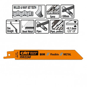 CMT Bajonetklinge 150mm BIM Flex (Metal, rør)