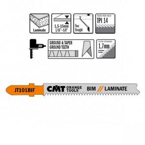 CMT Stiksavklinge 83mm BIM (Laminat, Lige, Fin) JT101BIF-5