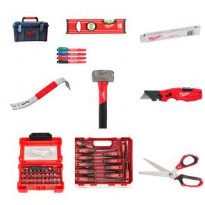 Milwaukee Håndværktøjssæt i værktøjskasse - MT4