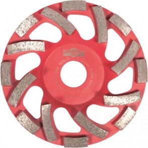 Diamantkopskive Rød 125x6x22,2mm til gammel beton - OS12522