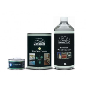 Rubio Monocoat Terrasseolie sæt Natural - 1 L - RMC-124043SET