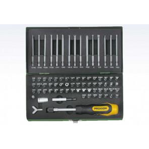Proxxon bitssæt 75 dele - ROL-23107