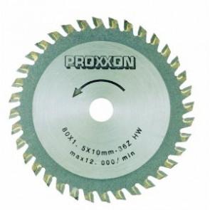 Proxxon Rundsavsklinge HM Ø80 36 Tænder - ROL-28732