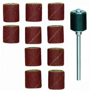 Proxxon Slibebånd m/10 blade og holder - ROL-28978