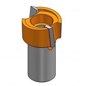 CMT overfræserbor HM 28x16 K10 OFK 500 - S901.28018