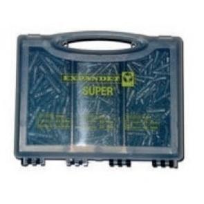 Expandet Super Sortimentsæske plugs uden skruer 250 stk - SE-260001