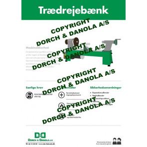 Sikkerhedsplanche trædrejebænk - SIK.DRE