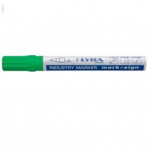 Lyra Industri Marker, 3 mm Grøn - TA-212089