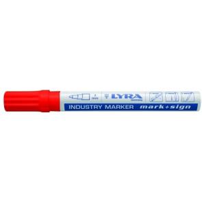 Lyra Industri Marker 4040 m. kugle rød - TA-212091