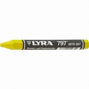 Lyra Oliekridt (797) m/papir 12 stk. Gul - TA-242043