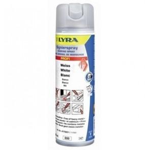 Lyra Markeringsspray (4180) Hvid - TA-242112