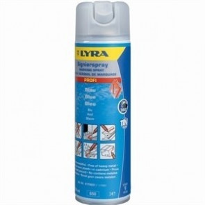 Lyra Markeringsspray (4180) Blå - TA-242115
