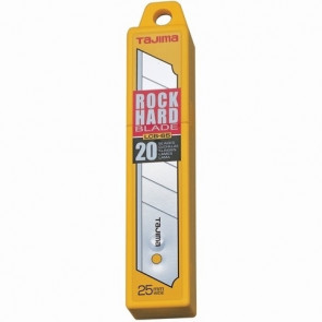 Tajima Knivblad LCB-65 Rock Hard Blade 25mm 20 stk. - TA-466085