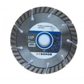 Diatech Turbo Diamantskive 125mm til beton - TA-767860