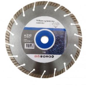 Diatech Turbo Diamantskive 230 mm til beton - TA-767862