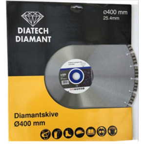 Diatech Turbo Diamantklinge 400 mm til beton - TA-767868