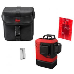 Leica Lino L6Rs 3x360° rød streglaser i taske - TA-810100