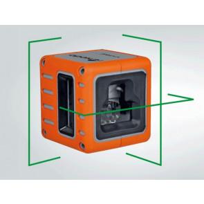 Nedo Krydslaser Cube Grøn  - TA-868635