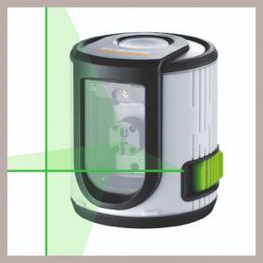 Laserliner EasyCross-Laser Green - Krydslinjelaser 1H+1V Grøn - TA-87081081