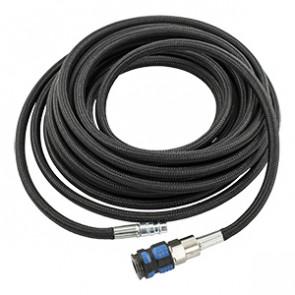 """TJEP Nylonflet. forlæng.slange, 1/4"""" x 10 m med kobling/nippel TJ106281"""